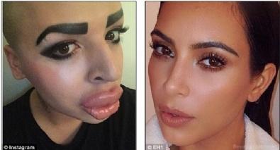 Kim Kardashian'a Benzeyebilmek İçin...