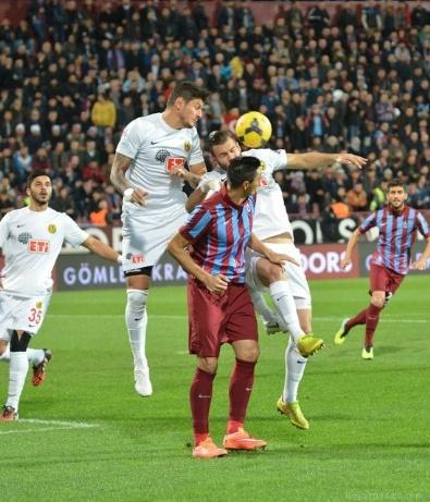 ESKIŞEHIRSPOR - Trabzonspor-Eskişehirspor Maçından Fotoğraflar