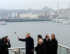 METRO KÖPRÜSÜ - Haliç Metro Geçiş Köprüsü Açıldı