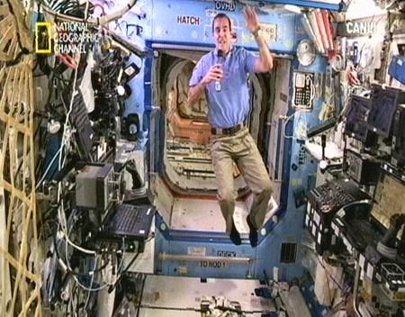 uluslararasi uzay istasyonu - Uzaydan Canlı Yayın...