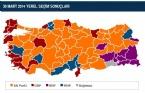 İl İl 2014 Yerel Seçim Sonuçları