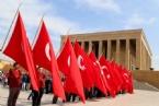 Anıtkabir'de 23 Nisan Ulusal Egemenlik ve Çocuk Bayramı Töreni