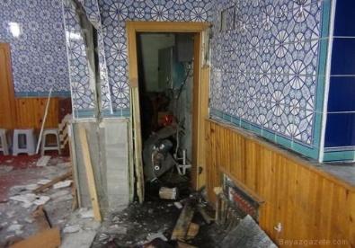 DOĞALGAZ PATLAMASI - Ankara Elmadağ'da Camide Patlama