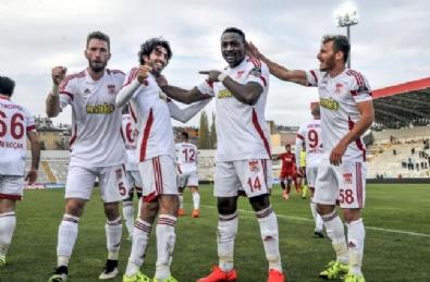 Sivasspor - Gaziantepspor Maçından En Güzel Fotoğraflar