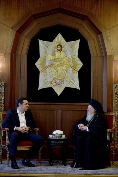 YUNANISTAN - Çipras, Fener Rum Patrikhanesini Ziyaret Etti
