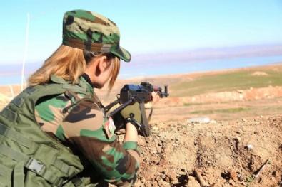Suriyeli Peşmergeler Esed Ve DAEŞe Karşı