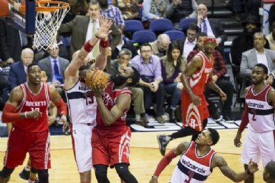 WASHINGTON - NBA: Washington Wizards - Houston Rockets