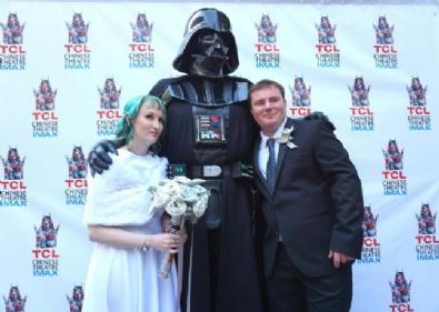 Hollywood'da 'Star Wars' Nikahı