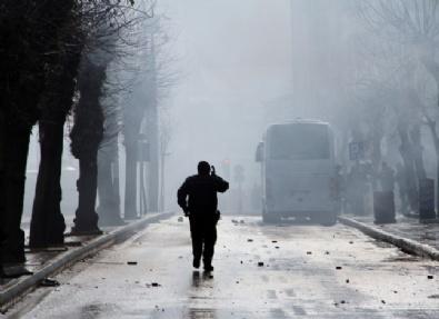 Van'daki Öcalan Yürüyüşünde Olaylar Çıktı