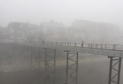 EDİRNE - Türkiye'yi sis kapladı