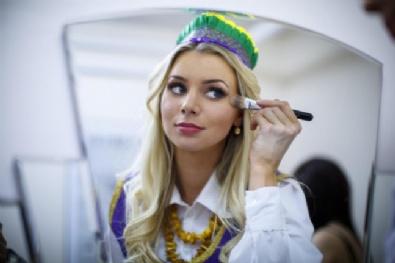 ESTONYA - İngiltere'deki güzellik yarışmasından çarpıcı kareler