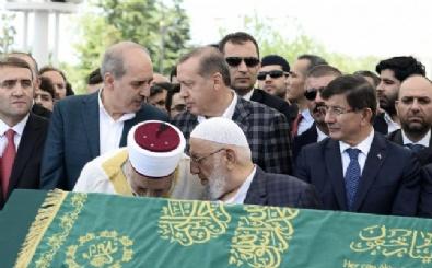 Erdoğan Ve Davutoğlu, Nar'ın Cenazesinde