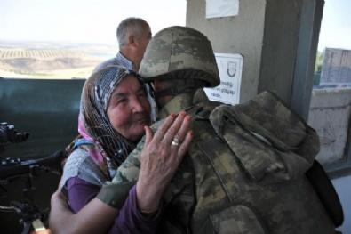 RAMAZAN BAYRAMı - Suriye Sınırındaki Mehmetçik'e Bayram Sürprizi