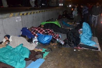 MAKEDONYA - Avrupada Sığınmacı Krizi Her Geçen Gün Büyüyor