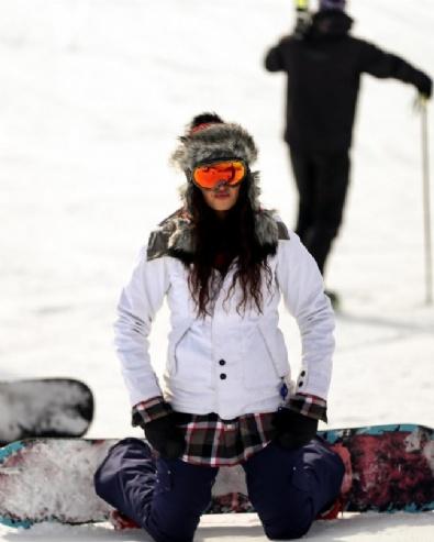 İran'da Kayak Sezonu Başladı