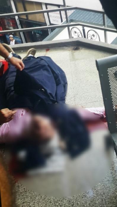İNTİHAR NOTU - Beşiktaş Çarşısı'nda şok intihar girişimi