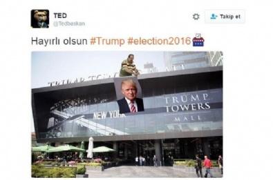 DONALD TRUMP - Trump ABD Başkanı Oldu, Capsler Patladı!