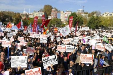"CHP Ve HDPden ""Teslim Olmayacağız"" Mitingi"