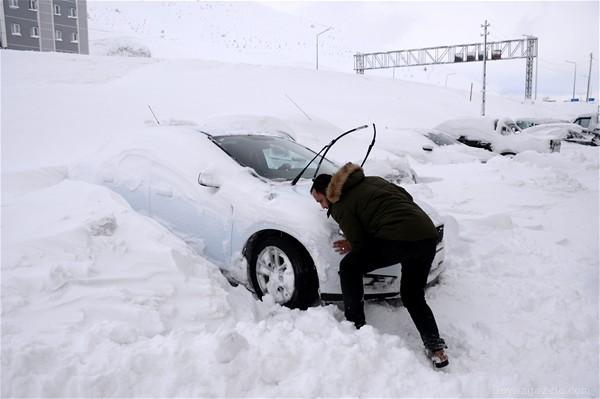 devlet meteoroloji genel mudurlugu - Doğuda kar esareti