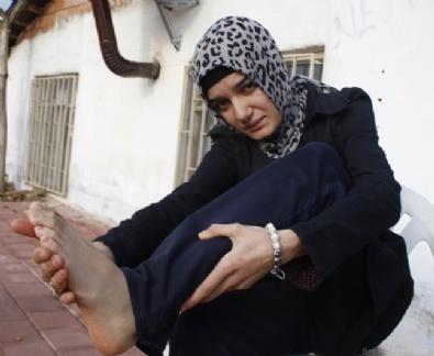 Karın ağrısı için gitti sakat kaldı!