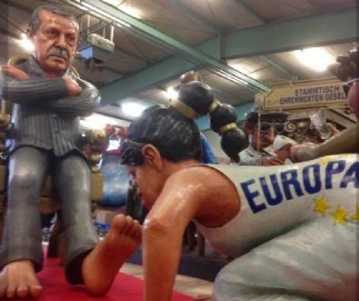 Erdoğan heykeli kriz çıkardı