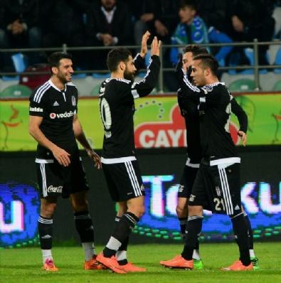 Ç. Rizespor - Beşiktaş Maçından En Güzel Fotoğraflar