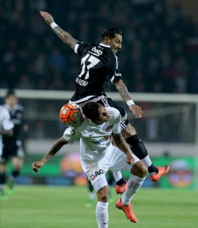 Beşiktaş-Antalyaspor Karşılaşmasından En Güzel Fotoğraflar