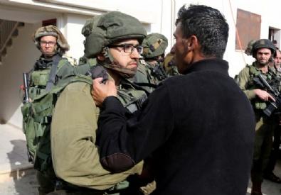 İSRAIL - İsrail Askerleri İle Filistinliler Arasında Gerginlik Çıktı!