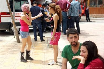 İTFAİYE ARACI - Gaziantep'te korkutan tüp patlaması