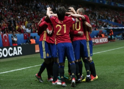 İspanya -Türkiye Euro 2016