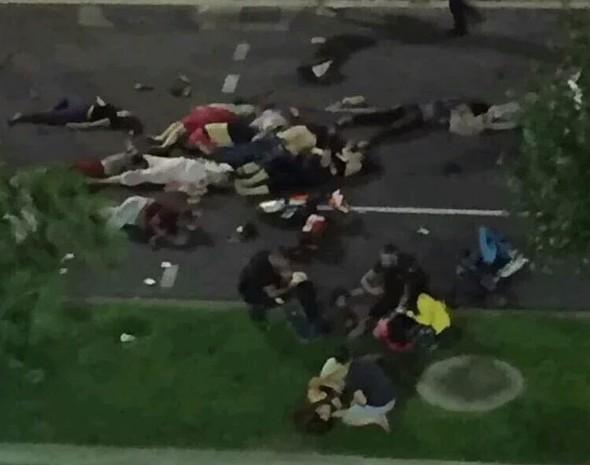 teror saldirisi - Fransa'daki saldırıdan şoke eden görüntüler