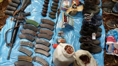 OKAY MEMIŞ - PKK'nın Mühimmat Deposu Ele Geçirildi