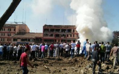 Elazığ Emniyet Müdürlüğü'nde büyük patlama