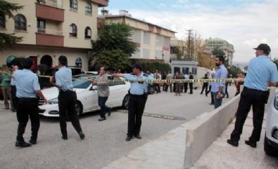 İsrail Büyükelçiliği önünde hareketli anlar