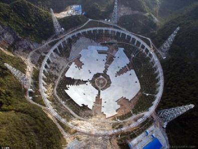 ÇİN - Çin dünyanın en büyük radyo teleskobunu faaliyete geçirdi