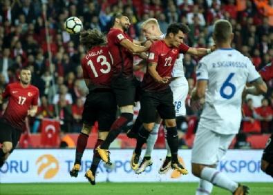 Türkiye-İzlanda Maçından En Güzel Fotoğraflar
