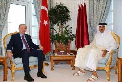 Erdoğandan Katarda