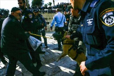 İSRAIL - Kudüs'te protesto gösterisine İsrail polisinden müdahale