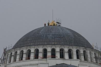 ÇAMLıCA - Çamlıca Camii Taçlandırıldı
