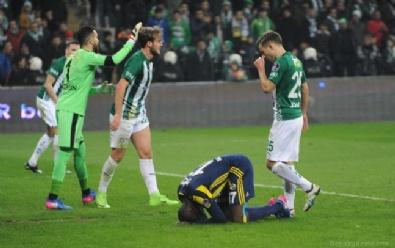 BURSASPOR - Bursaspor: 1 Fenerbahçe: 1 Maç Sonucu