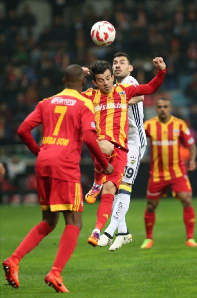 Kayserispor - Fenerbahçe Karşılaşmasından En Güzel Fotoğraflar