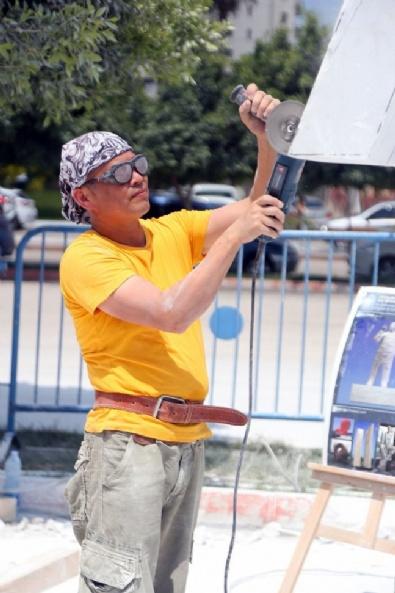 Çinli Heykeltıraştan 15 Temmuz Heykeli