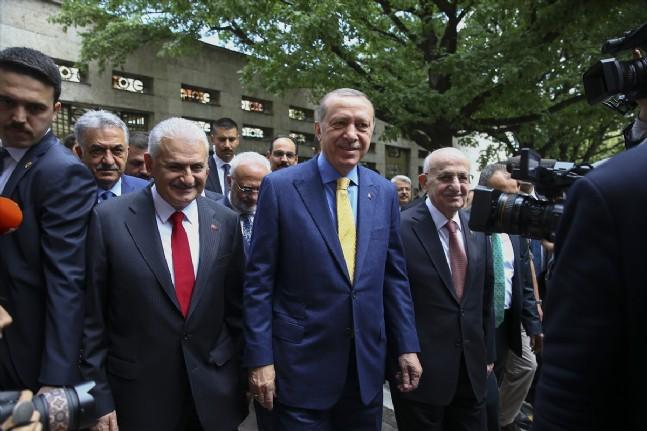 ismail kahraman - Cumhurbaşkanı ve AK Parti Genel Başkanı Recep Tayyip Erdoğan partisinin grup toplantısına katıldı