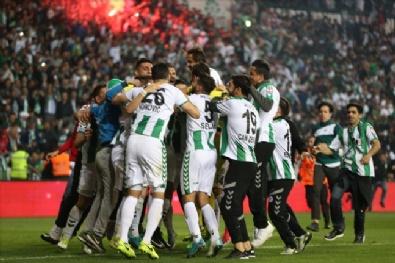 Konyaspor - Başakşehir Maçından En Güzel Kareler