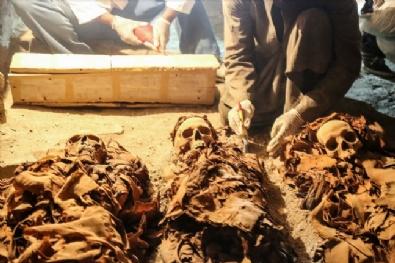 Mısır'da Yeni Mumyalar Bulundu