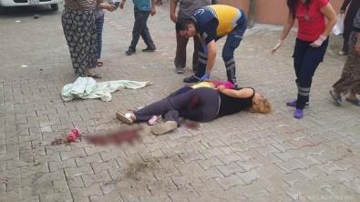 Okul yolunda anne ve kızına silahlı saldırı