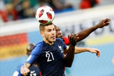 Fransa Belçika Maçından En Güzel Kareler