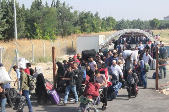 Bayram İçin Ülkelerine Giden Suriyelilerin Sayısı 26 Bini Buldu