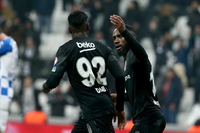Beşiktaş - Erzurumspor Maçından Kareler
