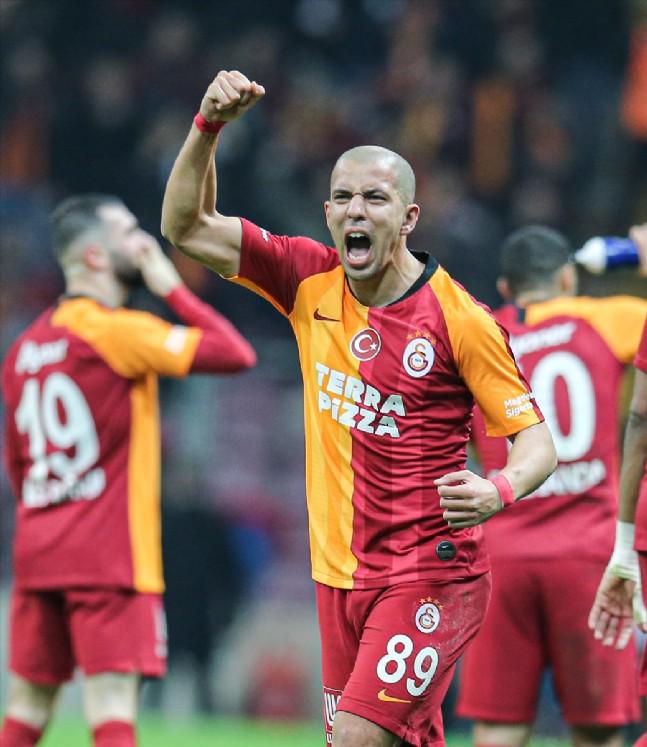 Galatasaray Kayseri'yi 3 Farkla Geçti